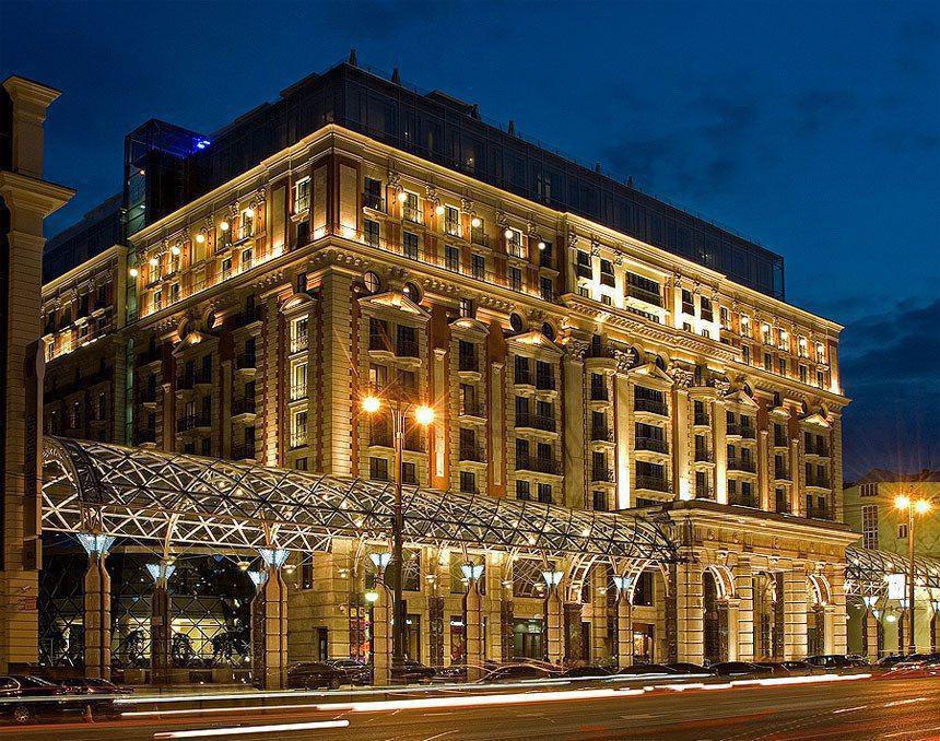 هتل دربست برای پادشاه عربستان درمسکو (عکس)