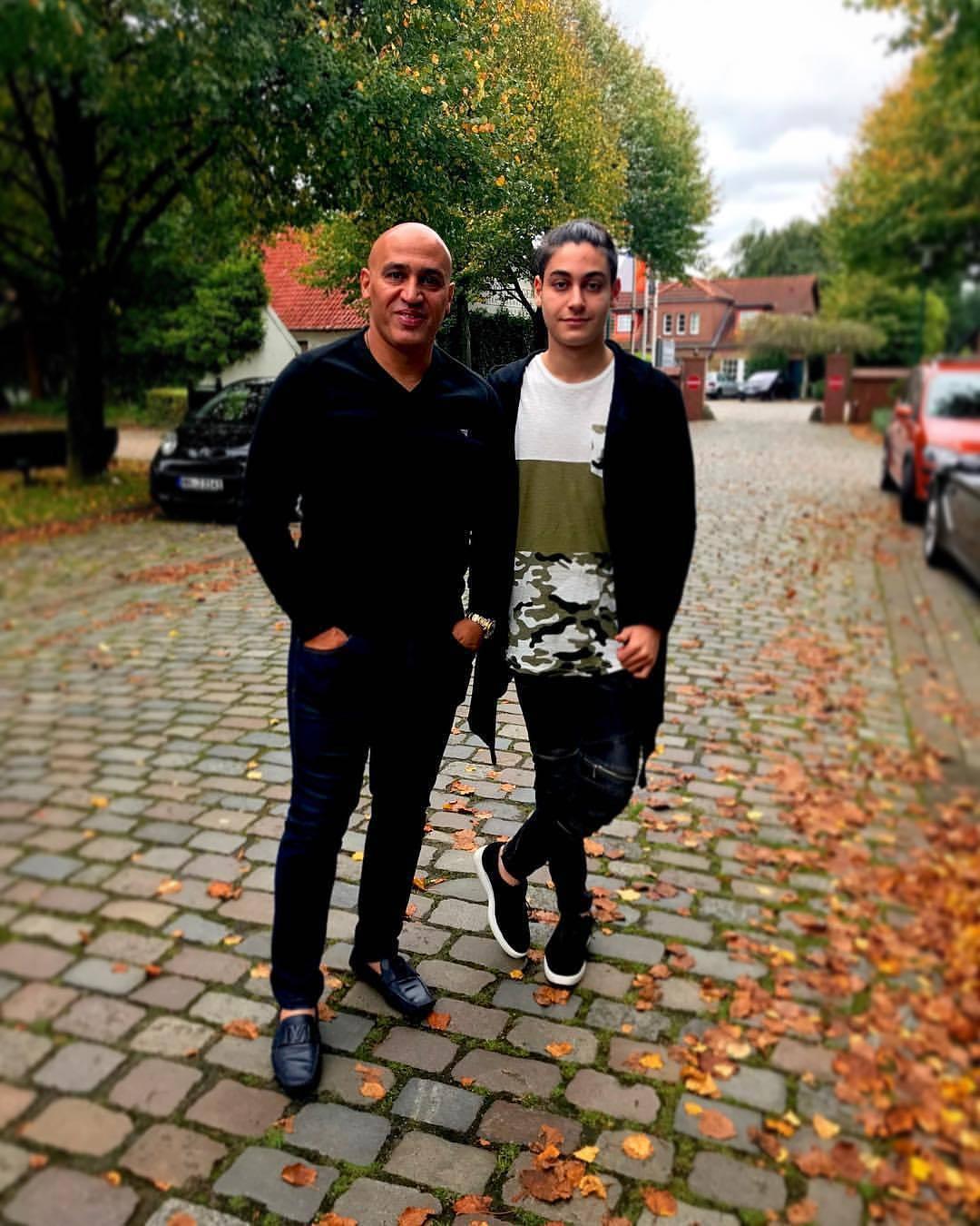 علیرضا منصوریان و پسرش در آلمان! (عکس)