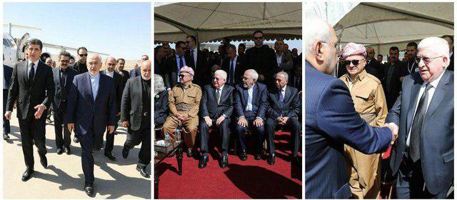 ظریف: ایران اشتباهات برخی افراد را به حساب مردم کرد عراق نمیگذارد