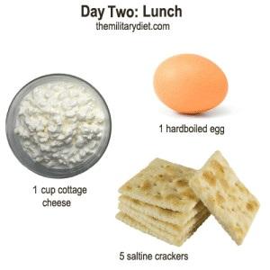 رژیم غذایی از نوع نظامی!