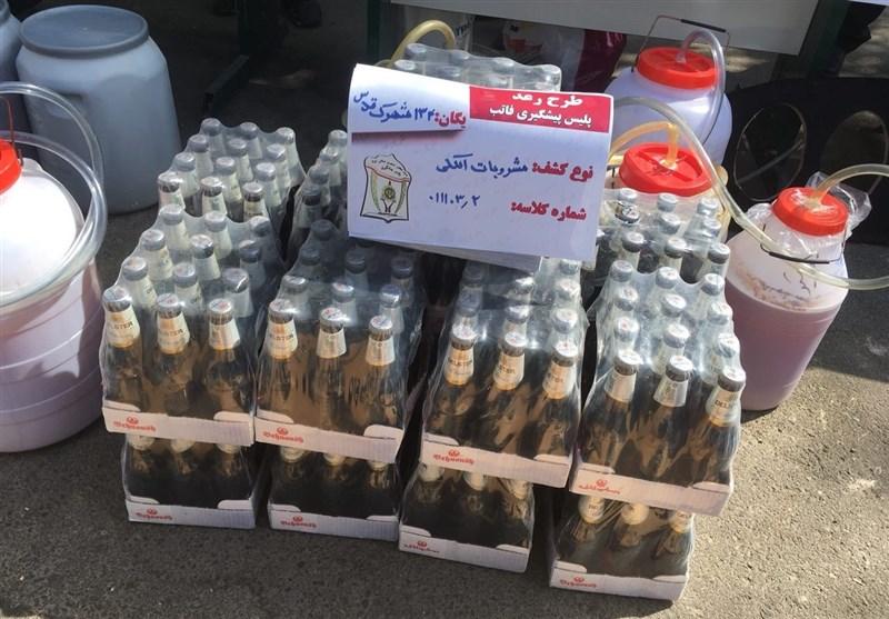 توزیع مشروبات الکلی در بطری «دلستر» در شهرک غرب (+عکس)