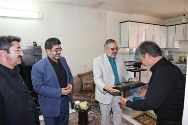 دیدار مدیران آبفای استان مرکزی از خانواده های ایثارگر