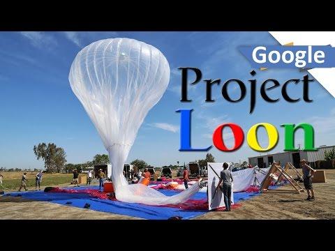 بالن اینترنت گوگل برای مناطق سیل زده آمریکا