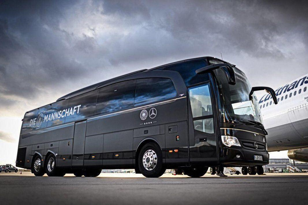 رونمایی از اتوبوس تیم ملی آلمان (عکس)