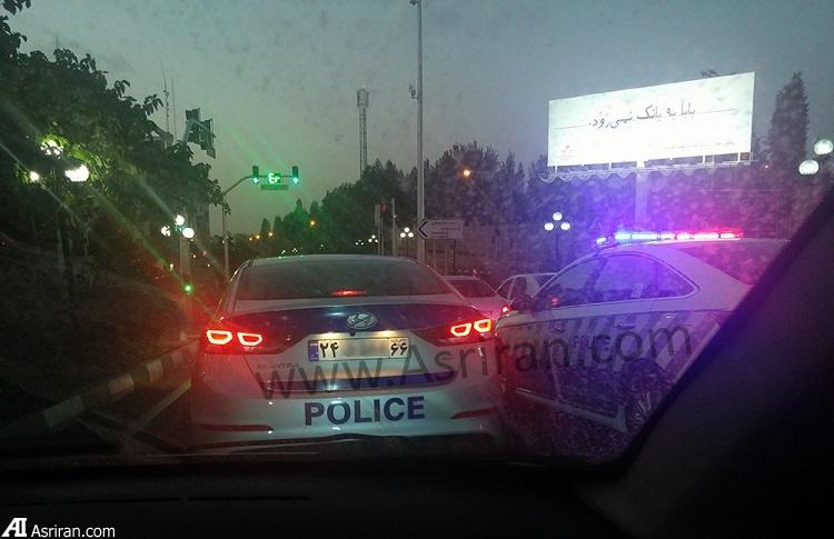 ماشین های پلیس خاص در تهران (عکس)