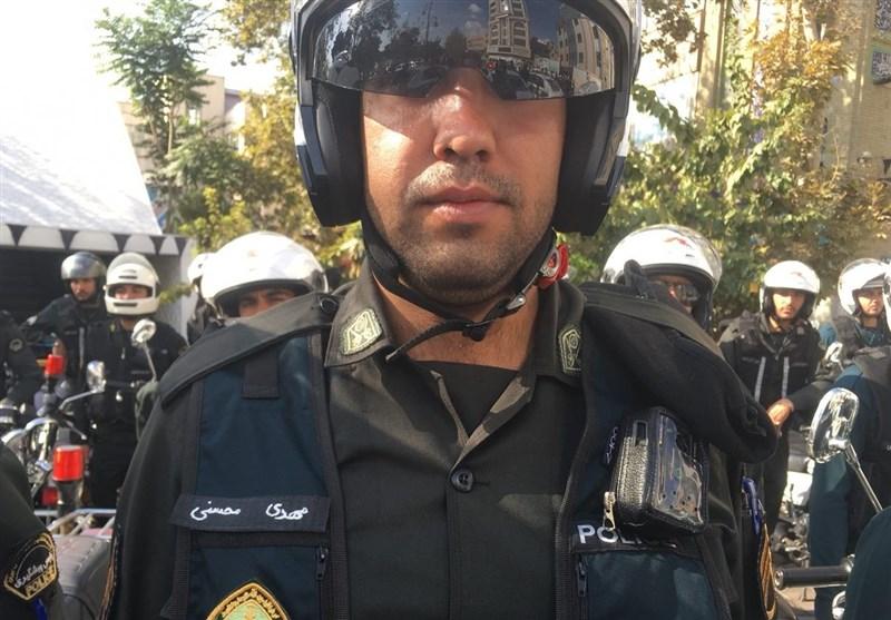 رونمایی از لباسهای دوربیندار ماموران پلیس (عکس)