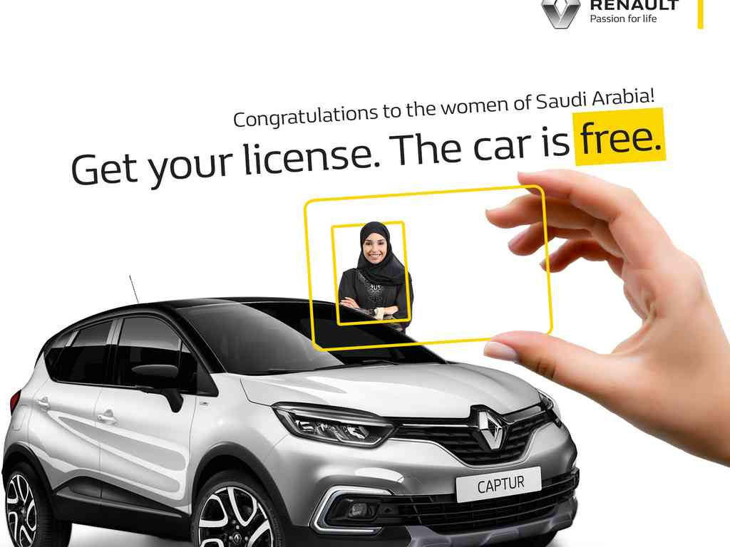 رنو به 7 راننده نخست زن در عربستان کپچر میدهد