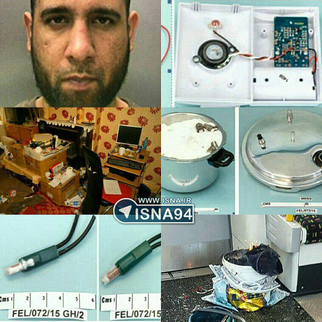 بازداشت تروریستی که در خانهاش لابراتوار بمبسازی دائر کرده بود (+عکس)