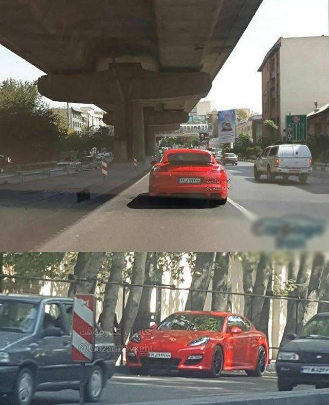 تنها پورشه پانامرا توربو در ایران (عکس)