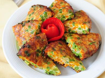 طرز تهیه کوکوی نخود و هویج