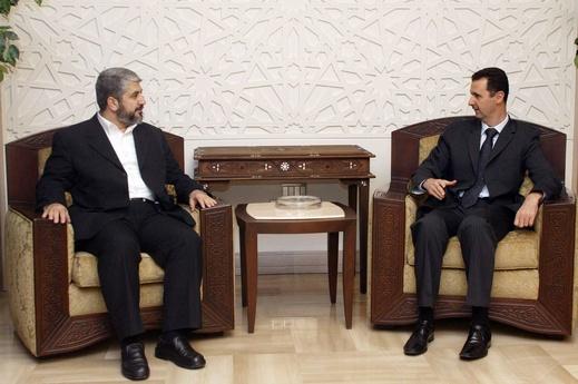 تلاش ایران برای آشتی حماس و بشار اسد