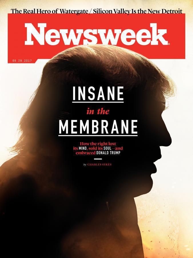 طرح جنجالی مجله آمریکایی علیه ترامپ (+عکس)