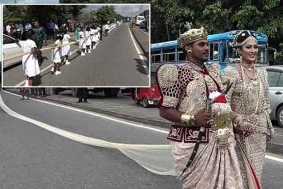 دردسر عروس برای دانش آموزان (+عکس)