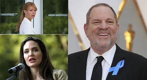 آنجلینا جولی قربانی آزار جنسی تهیه کننده هالیوود