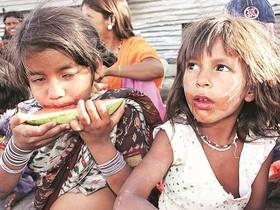 هند سومین کشور گرسنه در آسیا