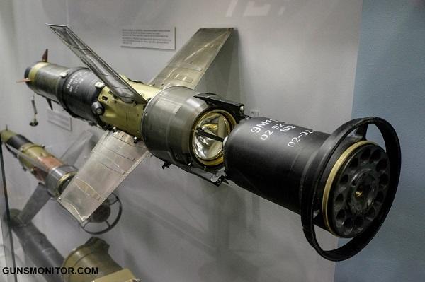 موشک ضد تانک 9M113 کانکورس(+عکس)