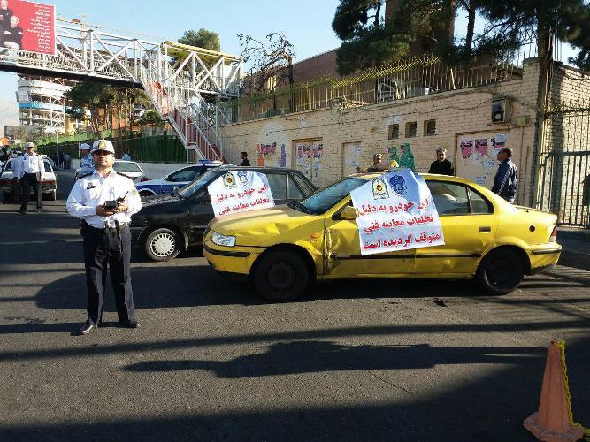 طرح برخورد با خودروهای دودزا در پایتخت کلید خورد
