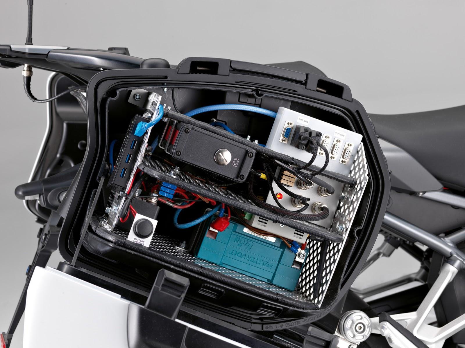 امنیتی فوق العاده با موتورسیکلتهای آینده