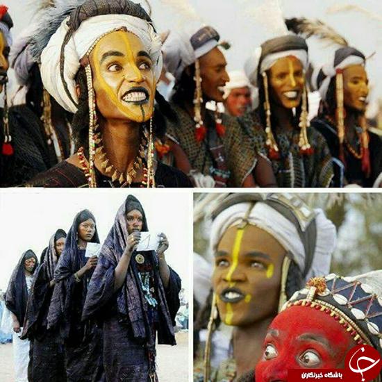 قبیلهای عجیب در نیجریه (عکس)
