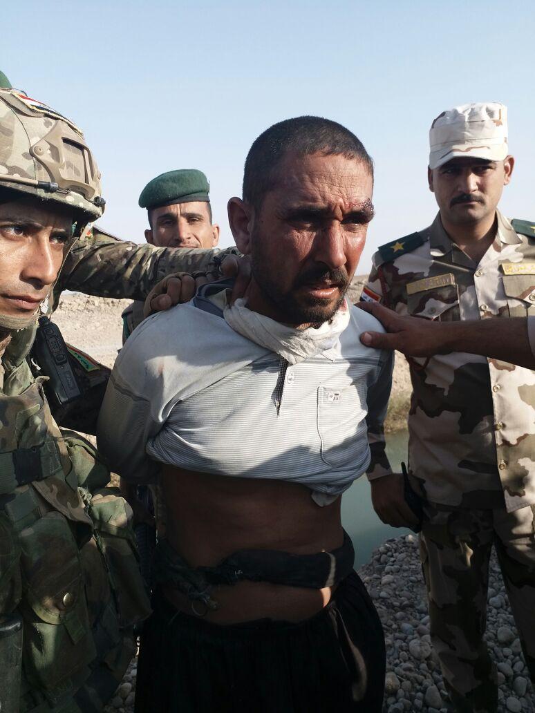 یکی از متهمان اصلی جنایت اسپایکر در الانبار عراق دستگیر شد (+عکس)