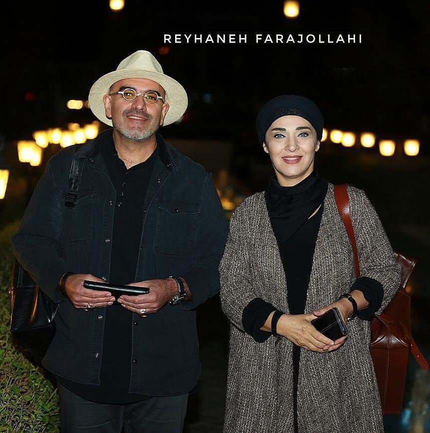 رویا نونهالی و و همسرش در یک مراسم خصوصی (عکس)