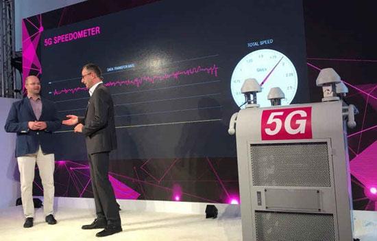 آغاز به کار اولین آنتن واقعی 5G