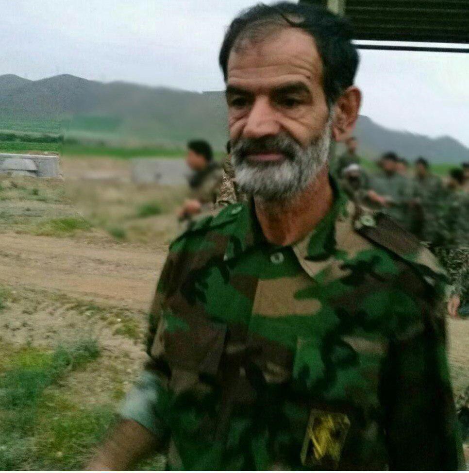 شهادت یک عضو سپاه در سوریه (عکس)