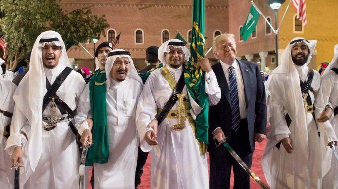 حمایت پادشاه سعودی از موضع ترامپ علیه برجام و ایران