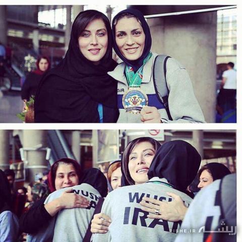 دختری که ایران را قهرمان جهان کرد (عکس)