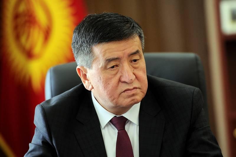«جن بیکاف» رئیس جمهور منتخب قرقیزستان شد (+عکس)