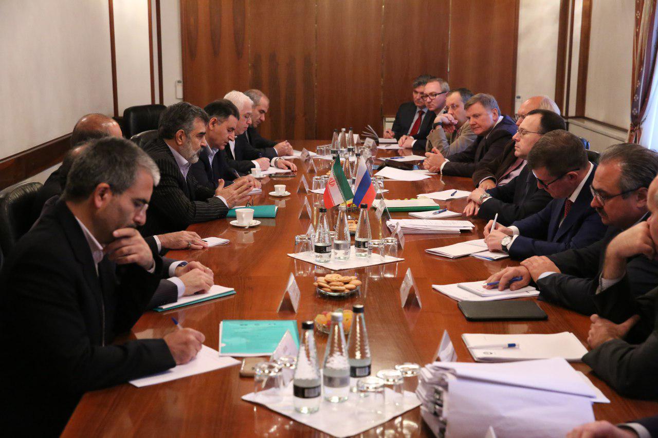 دیدار هیات های  انرژی هسته ای ایران و روسیه