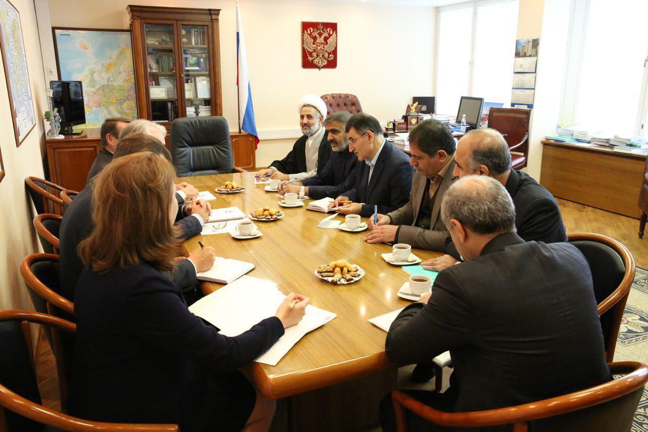 دیدار نمایندگان مجلس با رئیس کمیته انرژی دومای روسیه