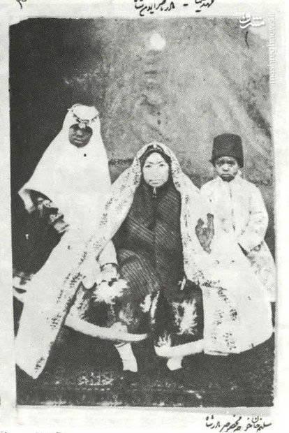 مادر ناصرالدین شاه (عکس)