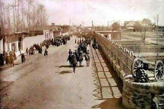 خیابان میرداماد در سال ۱۲۴۸ (+عکس)