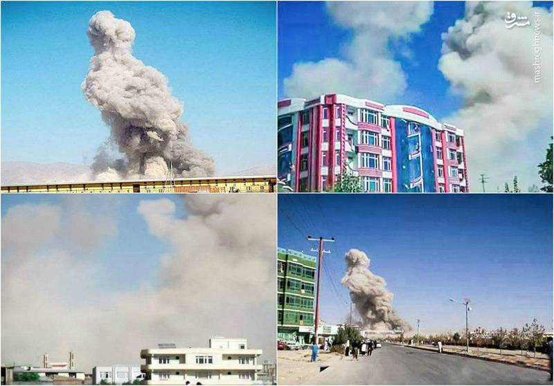 حمله مرگبار به پاسگاه پلیس در افغانستان (عکس)