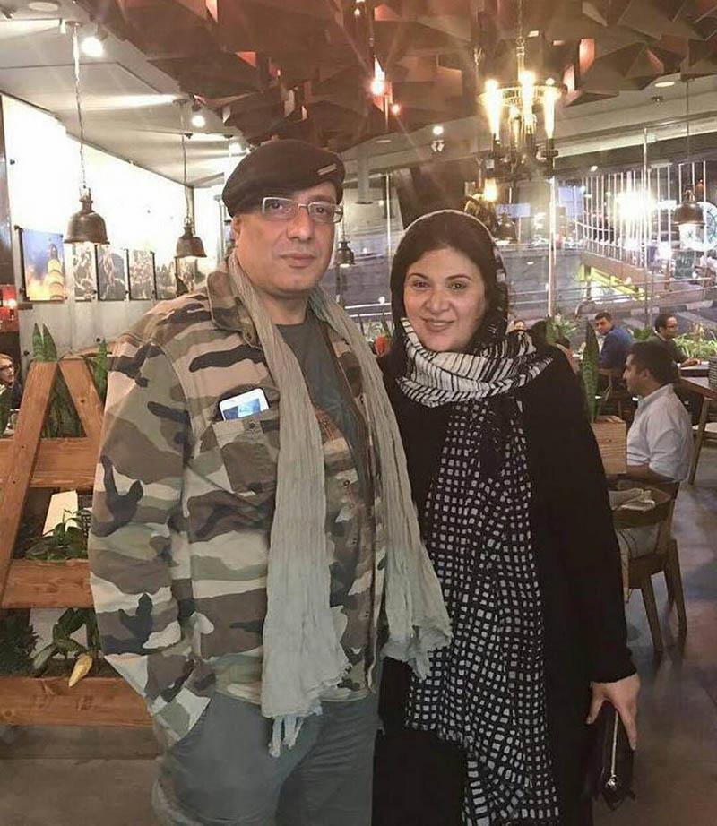 امیر جعفری و همسرش در یک رستوران (+عکس)
