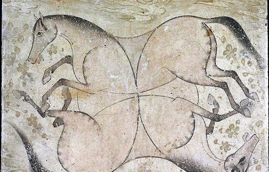 قدیمی ترین تابلوی نقاشی ایران در موزه بوستون آمریکا (+عکس)