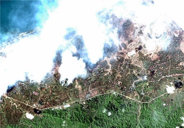 دیدهبان حقوقبشر: به آتش کشیده شدن 288 روستای اقلیت روهینگیا
