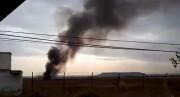 سقوط یک فروند جت جنگنده F18 اسپانیا (فیلم)