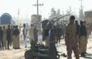 انفجار خودروی بمب گذاری شده در پاکستان (فیلم)