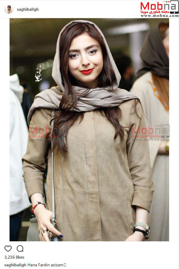 حنا فردین؛ نوه فردین در اکران یک فیلم (عکس)