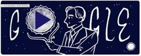تغییر لوگوی گوگل به مناسبت تولد اخترفیزیکدان برنده نوبل (+عکس)