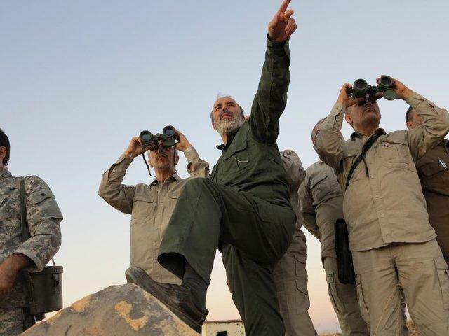 حضور سرلشکر باقری در حلب سوریه (+عکس)