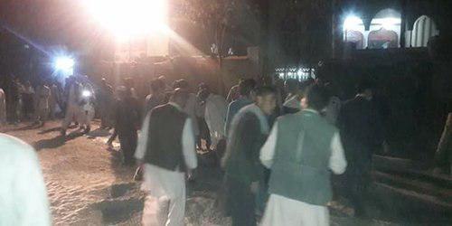 انفجار انتحاری در مسجد امام زمان کابل