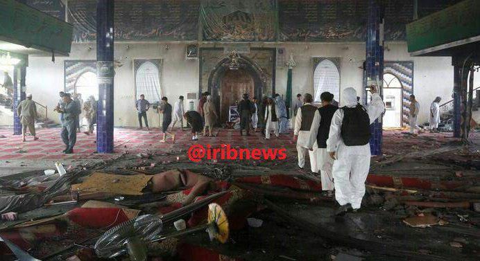 کشته شدن بیش از ۶۰ تن در بمبگذاری 2 مسجد در افغانستان
