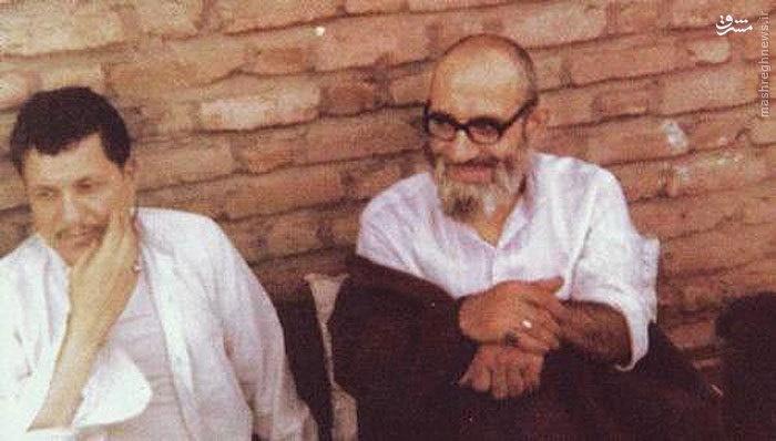 تصویری متفاوت از هاشمی رفسنجانی در کنار آیتالله مهدویکنی
