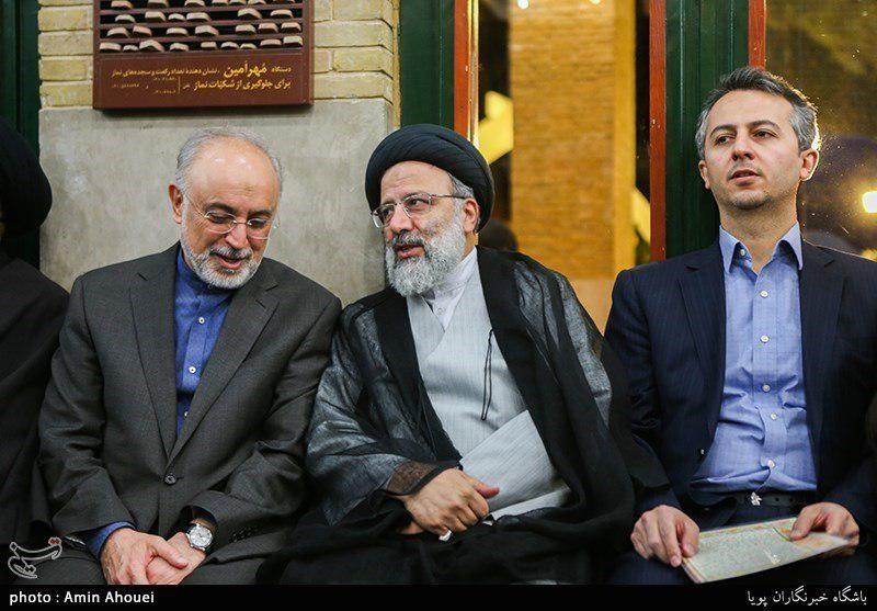 همنشینی رئیسی با معاون رقیب انتخاباتیاش (عکس)