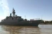 حرکت ناوهای دماوند و پيکان به سمت روسیه با پيام صلح و دوستی (فیلم)