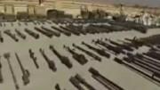 تونلهای داعش در جنوب شرقی ديرالزور سوريه (فیلم)