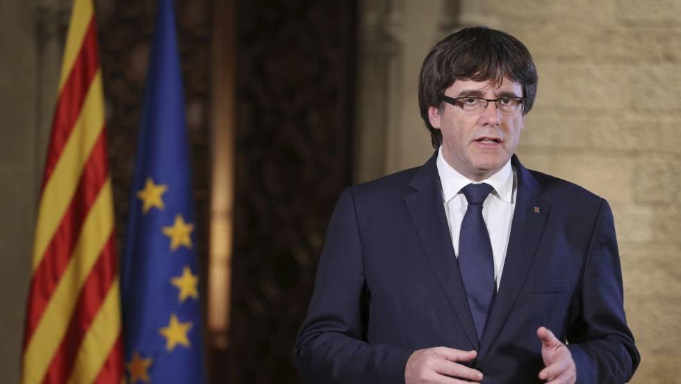 رئیس دولت کاتالونیا اقدام مادرید علیه ایالتش را کودتا خواند
